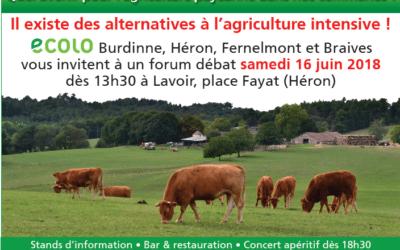 Ce 3 octobre en conseil communal: Nos agriculteurs «paysans» demandent à Burdinne de s'engager à les aider à se tourner vers un modèle agricole respectant leur travail, leur production, leur (notre) santé ainsi que nos terroirs.